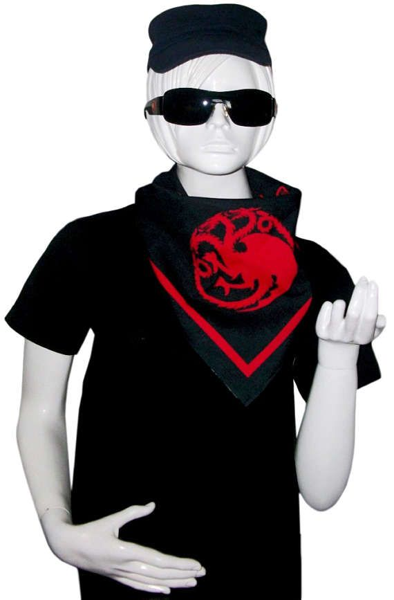 Free Shipping - House Targaryen (Game Of Thrones) Bandana