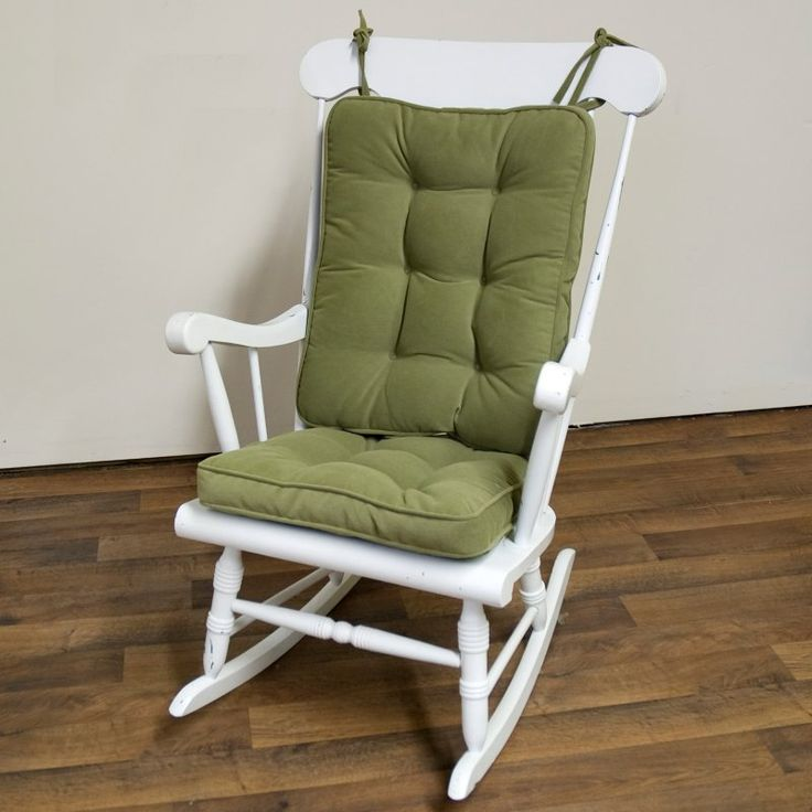 Greendale Home Fashions Standard Rocking Chair Cushion Set