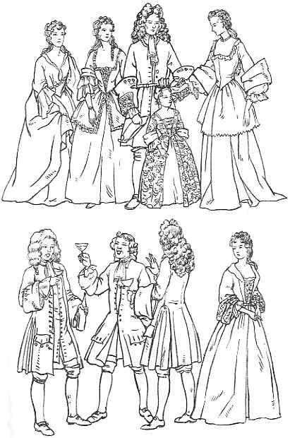 Clothing 1700 - 1735