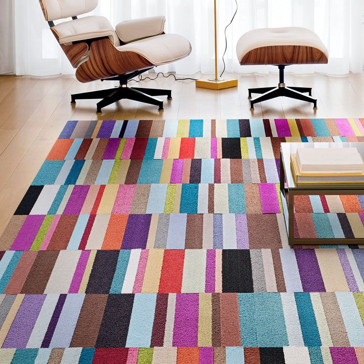 Parallel Reality Carpet Tiles By FLOR