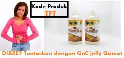 Cara mengobati Diare dengan Jelly Herbal QnC   Obat Batuk Berdarah