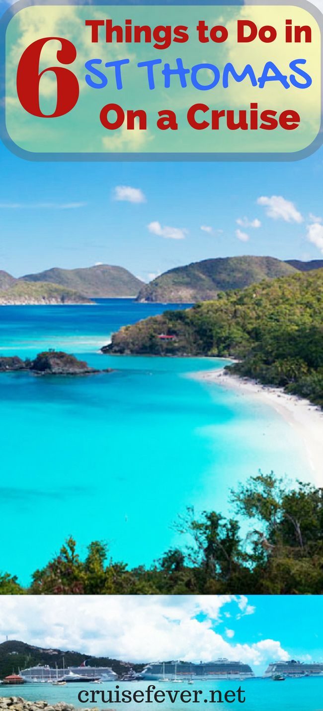 St. Thomas is one of the most popular cruise ports in the world and was voted the #2 cruise port in the Caribbean in the 2015 Cruise Fever Fan Awards.  There is something for all ages in St. Thomas and here are a few options for you to choose from when you stop in St. Thomas on a cruise.  www.cruisefever.net