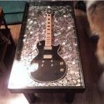 22 best guitar coffee table. images on pinterest   music rooms