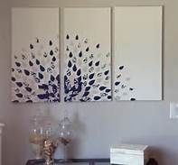 DIY Canvas Wall Art Ideas   Bing Images