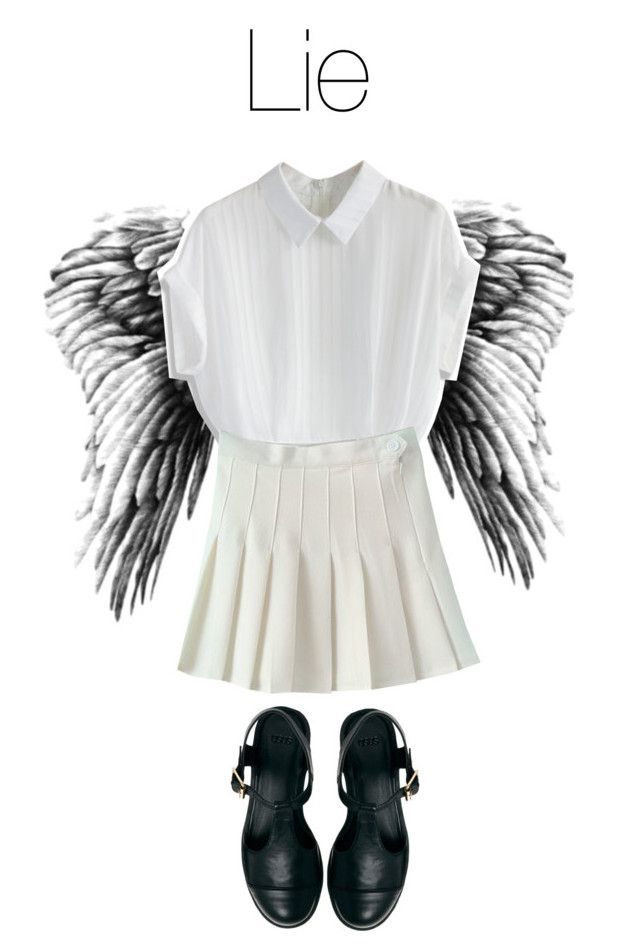 """""""BTS Wings: Lie"""" by kookiechu ❤ liked on Polyvore featuring Chicwish and ASOS"""