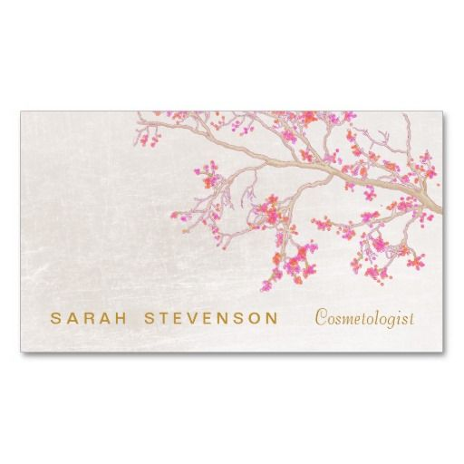 585 best business cards images on pinterest business cards elegant cosmetology shimmery pink salon and spa business card reheart Choice Image