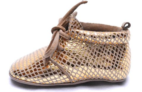 Gold Finger. Lapito Footwear baby shoes.