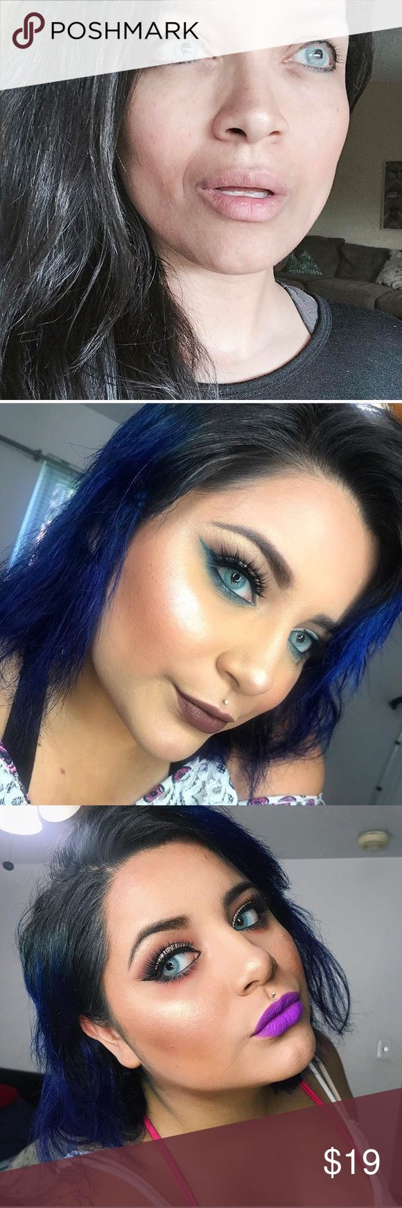 😍 GORGEOUS EYE COLOR AQUA BLUE CONTACTS WITH CASE 2 Lenses Case Included FreshTone Brand Monthly Lenses We ship daily Other