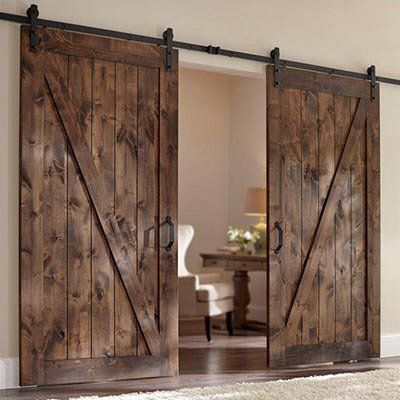 Best 25+ Barn doors ideas on Pinterest | Sliding barn doors Sliding door and Closet barn doors & Best 25+ Barn doors ideas on Pinterest | Sliding barn doors ... Pezcame.Com