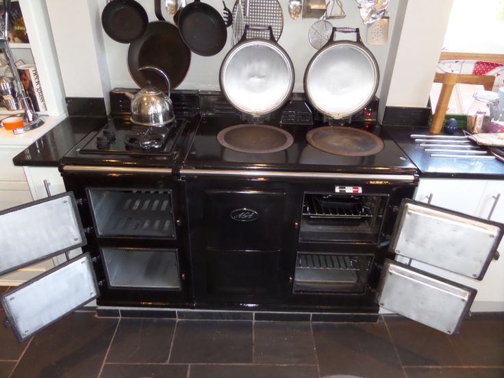 Aga Cleaning photo after a visit from Ovenmagic Worcestershire