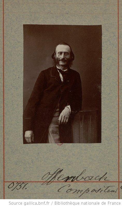 Offenbach, compositeur de musique : [photographie, tirage