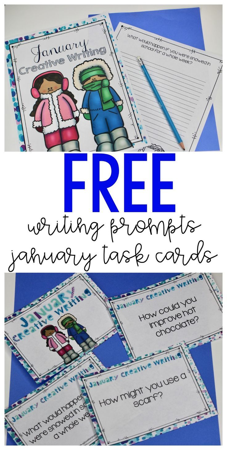 january writing prompts Coming back to school after a long winter break use these writing prompts to jumpstart creative thinking in january.