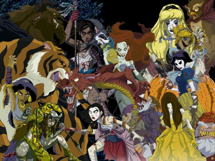 I'm not gonna lie. The twisted, creepy, Princesses are hot :)