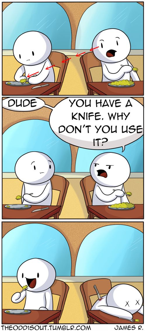 Theodd1sout :: (Not an Actual Conversation I've had recently) | Tapastic Comics - image 1