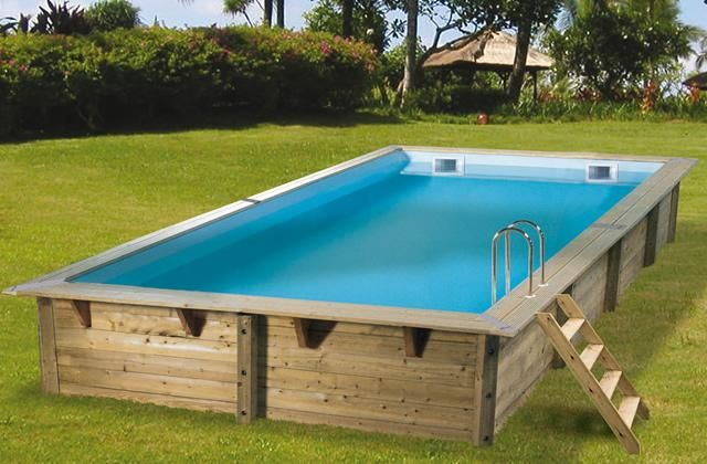 17 best ideas about piscine bois rectangulaire on for Piscine bois 7x3