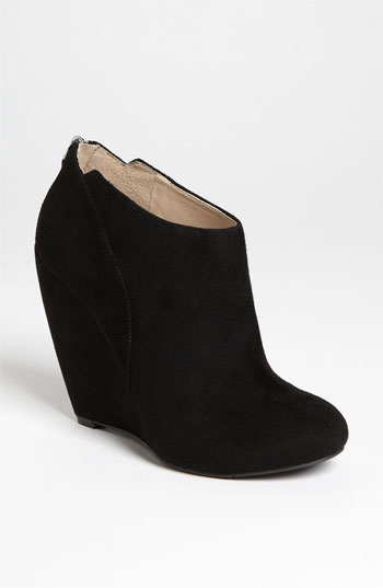 Nine West 'Lottie' Wedge Bootie available at #Nordstrom