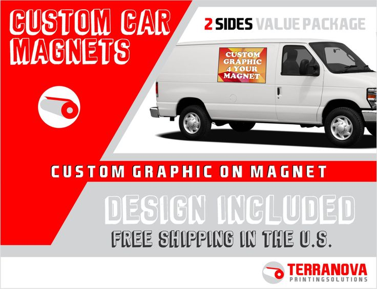 Die Besten  Custom Car Magnets Ideen Auf Pinterest - Custom car magnets round   promote your brand