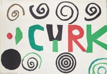 Poster Plakat Henryk Tomaszewski Cyrk Circus
