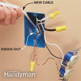 58 best images about wiring diagram the family add an electrical outlet