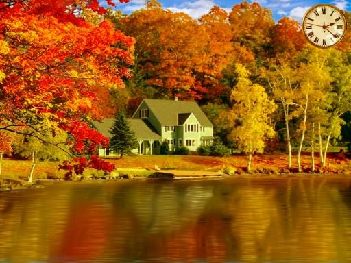 House on the lake: Fall Photography, Dreams Home, Dreams Houses, Fall Leaves, Fall Pictures, New England, Beautiful Places, Fall Foliage, Fall Trees