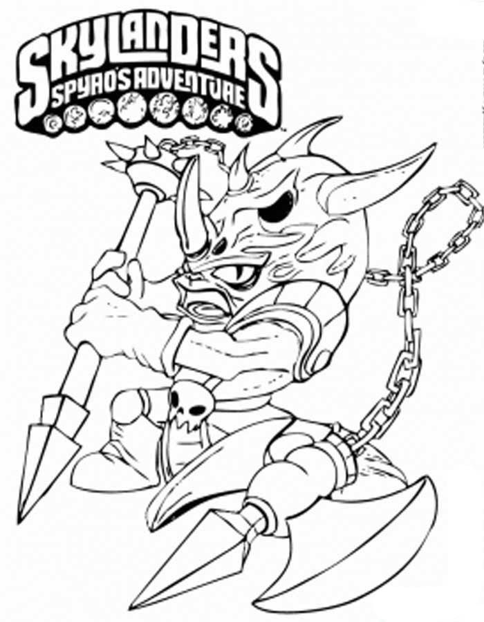 skylander coloring pages drobot automotive halifax | Skylanders Spyros Adventure Books - Free Colouring Pages