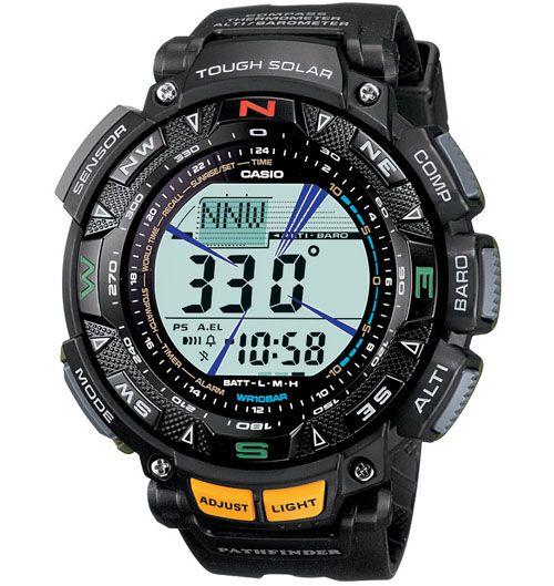 Casio Pathfinder Solar Compass Watch PAG240-1