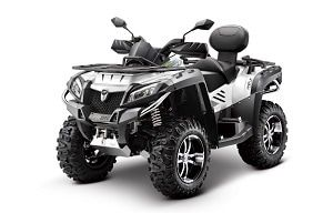 X8 Facelift Quad Bike for farm use. ATV and farm quad bikes from Quadzilla for smallholder farmers. 4WD system ideal for towing ATV trailers, paddock cleaners, paddock toppers, flail mowers, chain harrows.  For more info: http://www.fresh-group.com/quad-bike.html