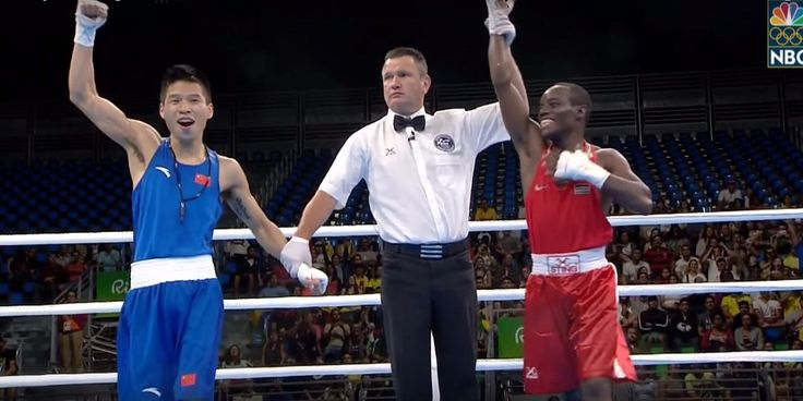 Chinese boxer mistakenly thinks he won an Olympic boxing match has heartbreaking reaction when he realizes he's wrong