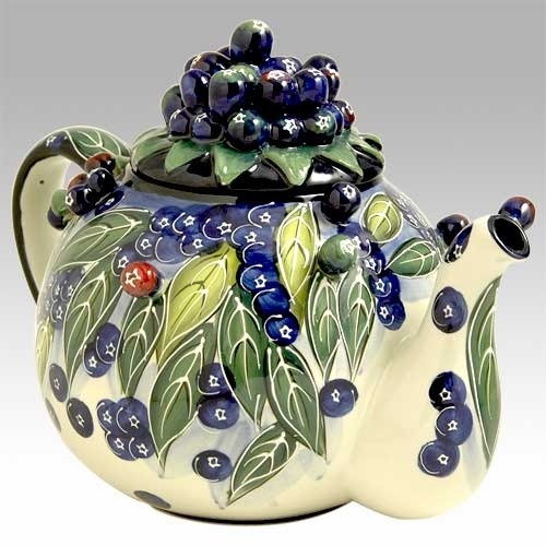 Blueberry Teapot by Jeanette McCall for Icing on the Cake