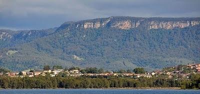 Ilawarra Escarpment, Wollongong, Australia.