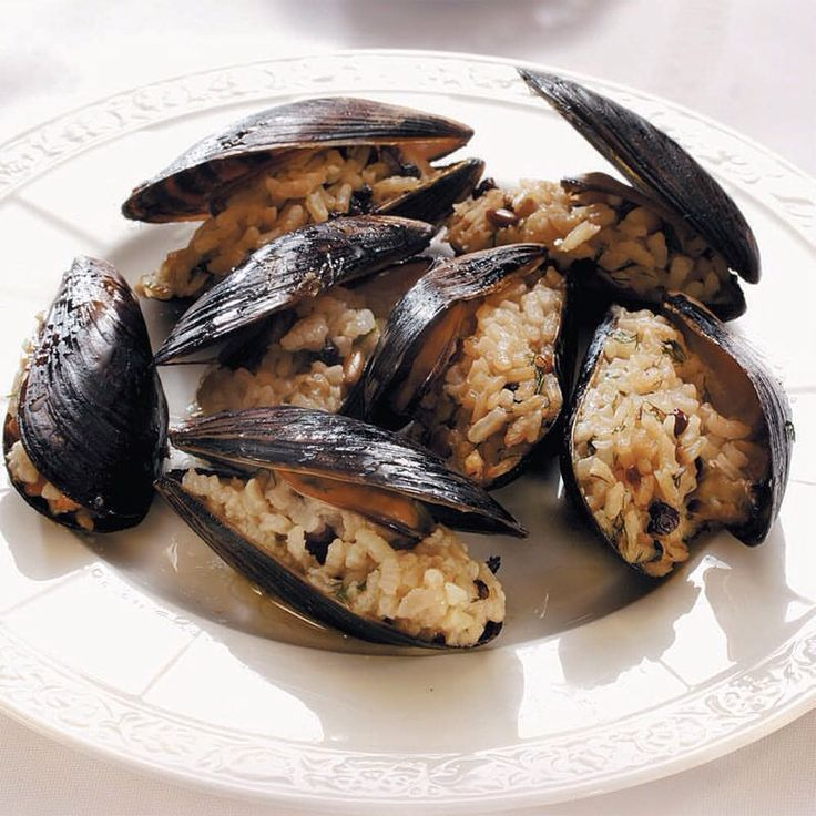 Photo of Stuffed mussels 1 lemon juice 50 shelled mussels 1 cup olive oil