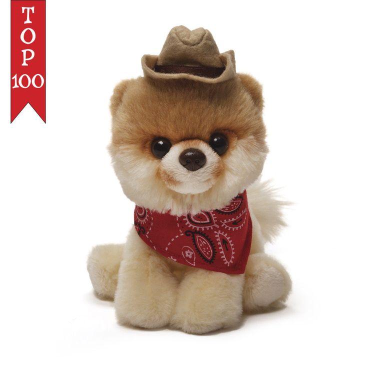New Itty Bitty Boo Western Boo Cowboy Hat #016 Plush 5″ New Gund