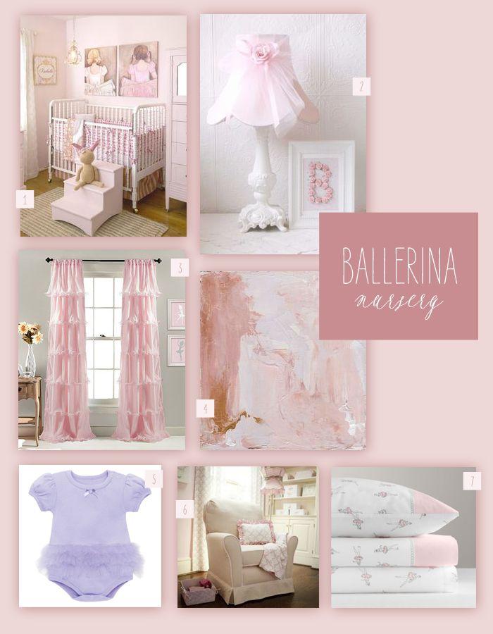 Ballerina Themed Nursery Inspiration