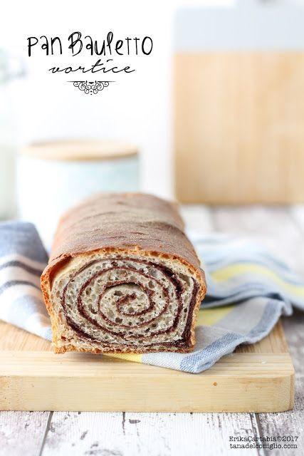 Un soffice e delicato lievitato arricchito da una golosa spirale di impasto al cioccolato, questo è il pan bauletto vortice. Il vostro alleato migliore per una sana e leggera prima colazione. Realizza