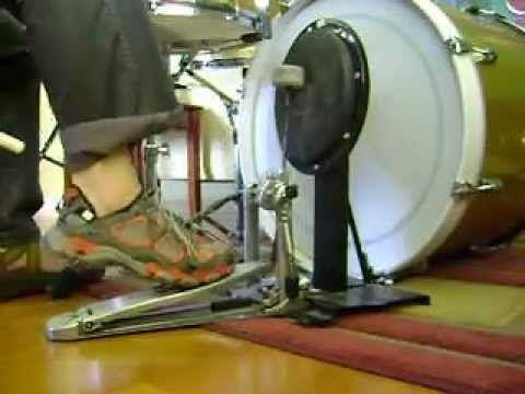 Jojo Mayer Bass Drum Technique - YouTube