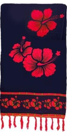 Bright Floral Print Sarong: Clothing Shops, Floral Prints, Bright Floral, Red Clothing, Things Red, Prints Sarongs, Black Decor, Bright Sarongs, Sarongs Black