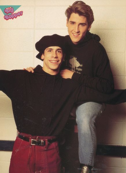 Danny Wood and Jonathan Knight - these 2 were my faves as a kid