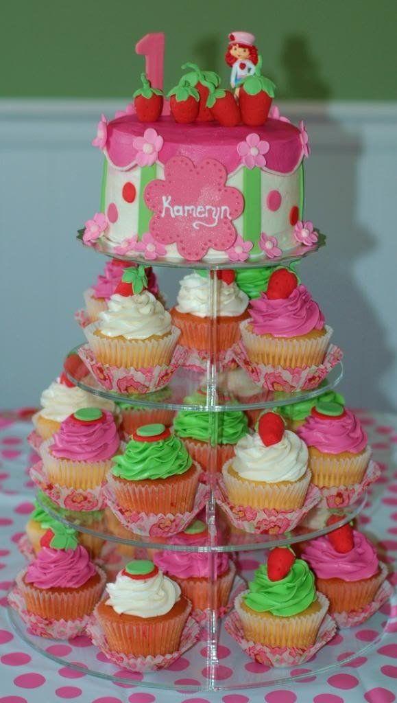 Cup cakes rosita fresita