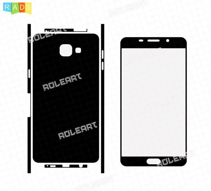 Skin Cut Template For CNG Cuting Plotter Oppo Realme 1