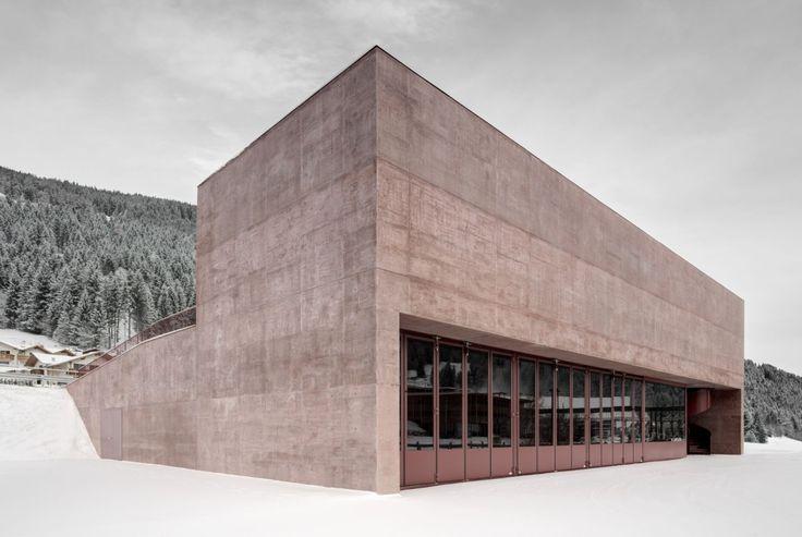 Pedevilla . new fire station . Vierschach (2)