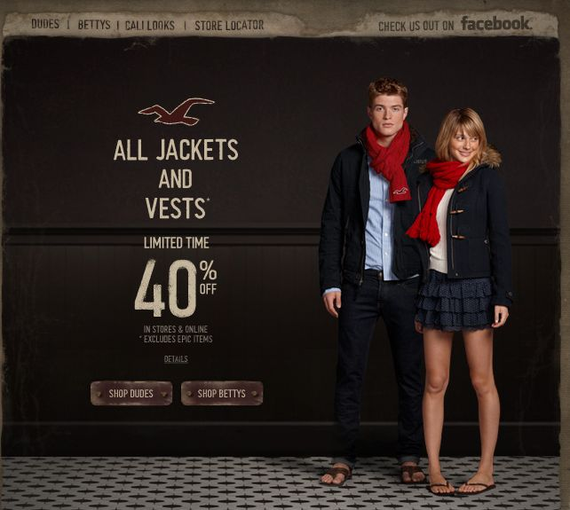 hollister jeans promo code