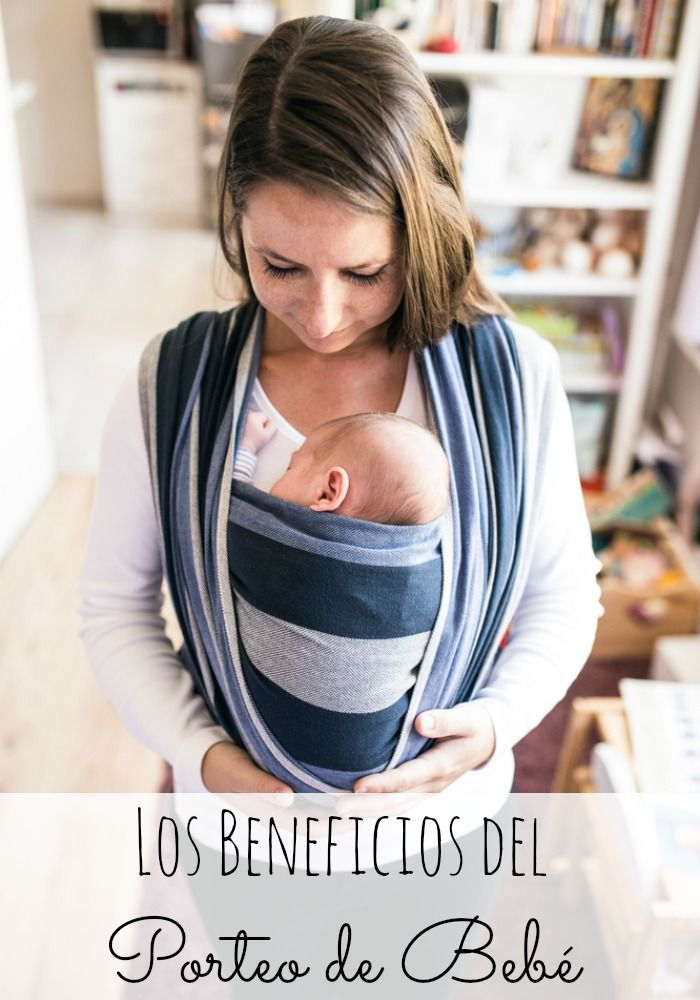 os beneficios del porteo de bebe