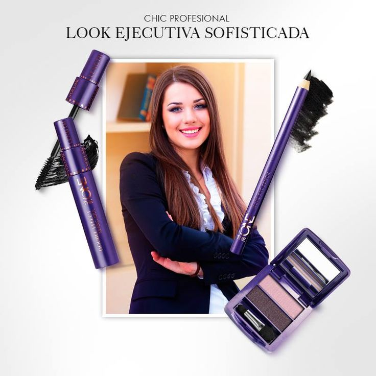 ¿Eres experta en negocios? Entonces sabes que tu #look debe ser tan impecable como tu desempeño. Prueba este #maquillaje chic y sobrio para esa reunión tan importante. #OriflameTheOne