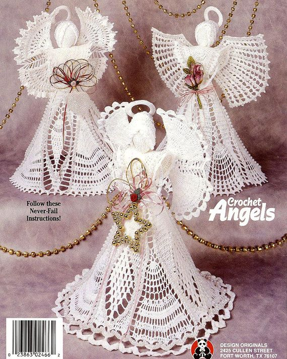 Crochet Angels 7 Exquisite Creations Angelic by ladydiamond46