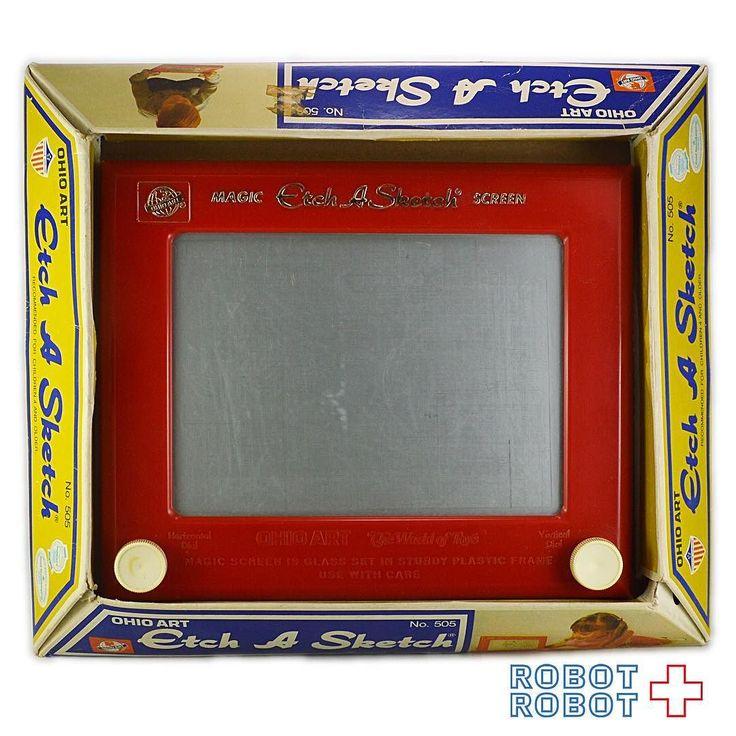 エッチアスケッチ マジックスクリーン 箱付 OHIO ART Etch A Sketch Magic Screen No.505 with Box #ToyStory #トイストーリー  #ピクサー #Pixar #Disney #ディズニー #アメトイ #アメリカントイ #おもちゃ  #おもちゃ買取 #フィギュア買取 #アメトイ買取 #vintagetoys #中野ブロードウェイ #ロボットロボット  #ROBOTROBOT #中野 #トイストーリー買取  #ピクサー買取 #WeBuyToys