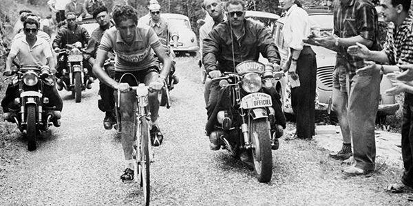 quando si trattava di pedalare in salita il lussemburghese charly gaul era felice e beato...