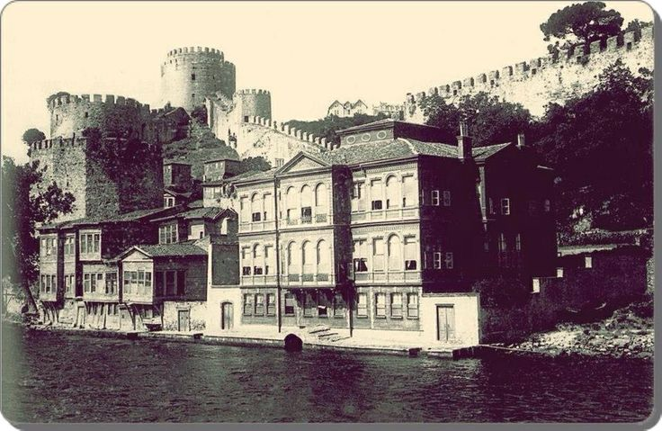Rumeli Hisarı Istanbul Turkey 1880's