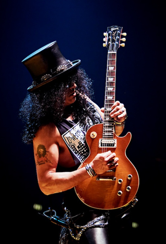 Slash is a great guitar player!!! When Slash decided to go separate ways..n…