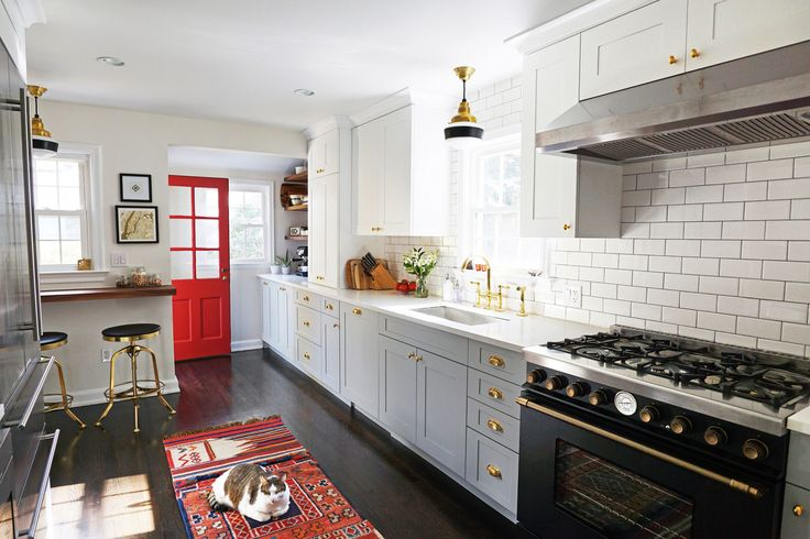 The Incredible Before-and-After Transformation of an AD Editor's Kitchen | Architectural Digest