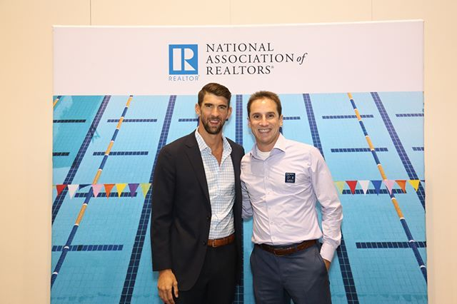 Hanging with Michael Phelps at the NAR Conference in Chicago - #celebrity #olympics #swimming #realestate #conference #networking #realtor #chicago #lovemyjob @wpsir_darien @williampittsir @juliabfeesir @sothebys @sothebysrealty @sothebyshomesnyc #localrealtors - posted by Bryan Morris https://www.instagram.com/realtorbmorris - See more Real Estate photos from Local Realtors at https://LocalRealtors.com